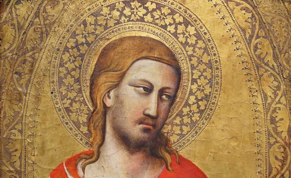 The conservator's eye: Taddeo Gaddi, Saint Julian