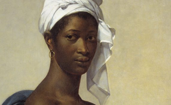 Marie-Guillemine Benoist, <em>Portrait of a Black Woman</em>