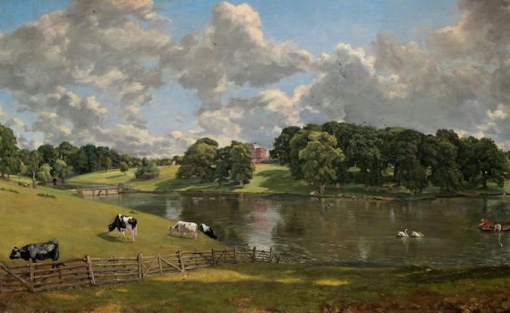 John Constable, <em>Wivenhoe Park, Essex </em>
