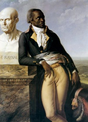 Anne-Louis Girodet de Roussy-Trioson, Jean-Baptiste Belley, member of the National Convention, 1797, oil on canvas, 159 x 113 cm (Palace of Versailles)