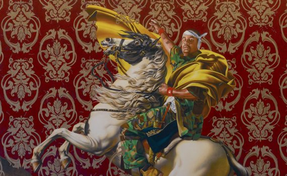 Kehinde Wiley, <em>Napoleon Leading the Army over the Alps</em>