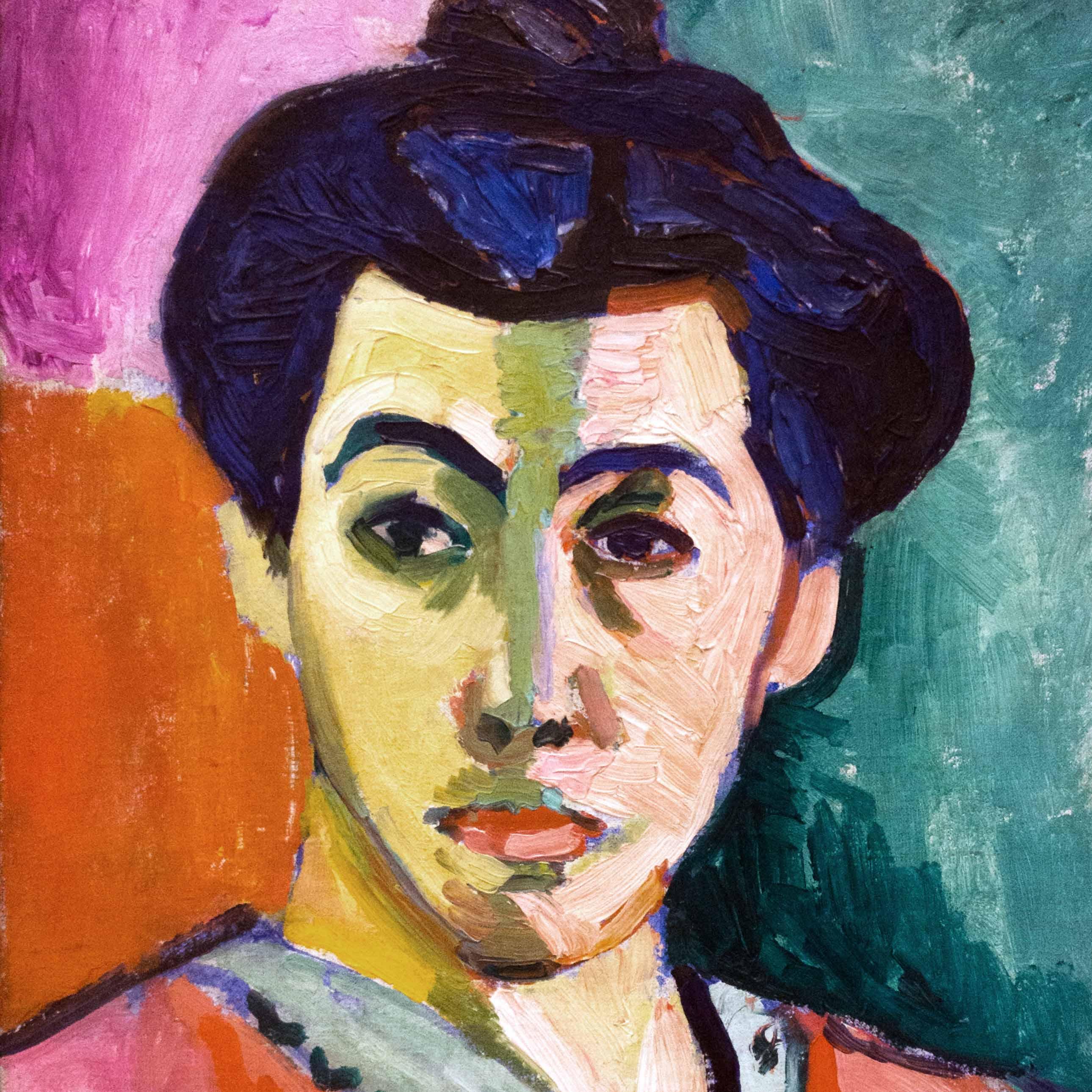 Henri Matisse, The Green Stripe (Portrait of Mme Matisse), 1905.