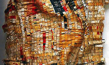El Anatsui,  <em>Old Man's Cloth</em>