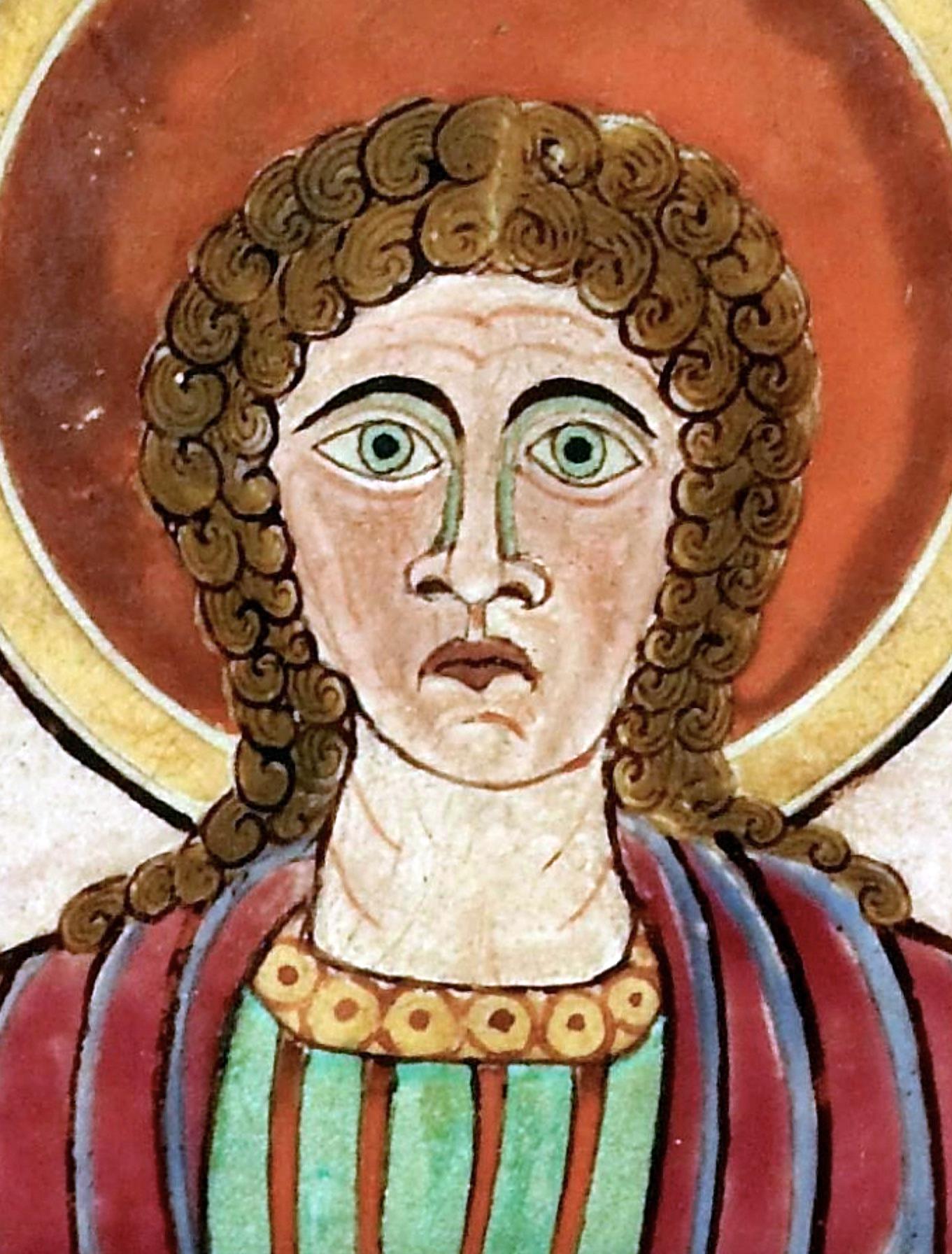St John Lindisfarne Gospels