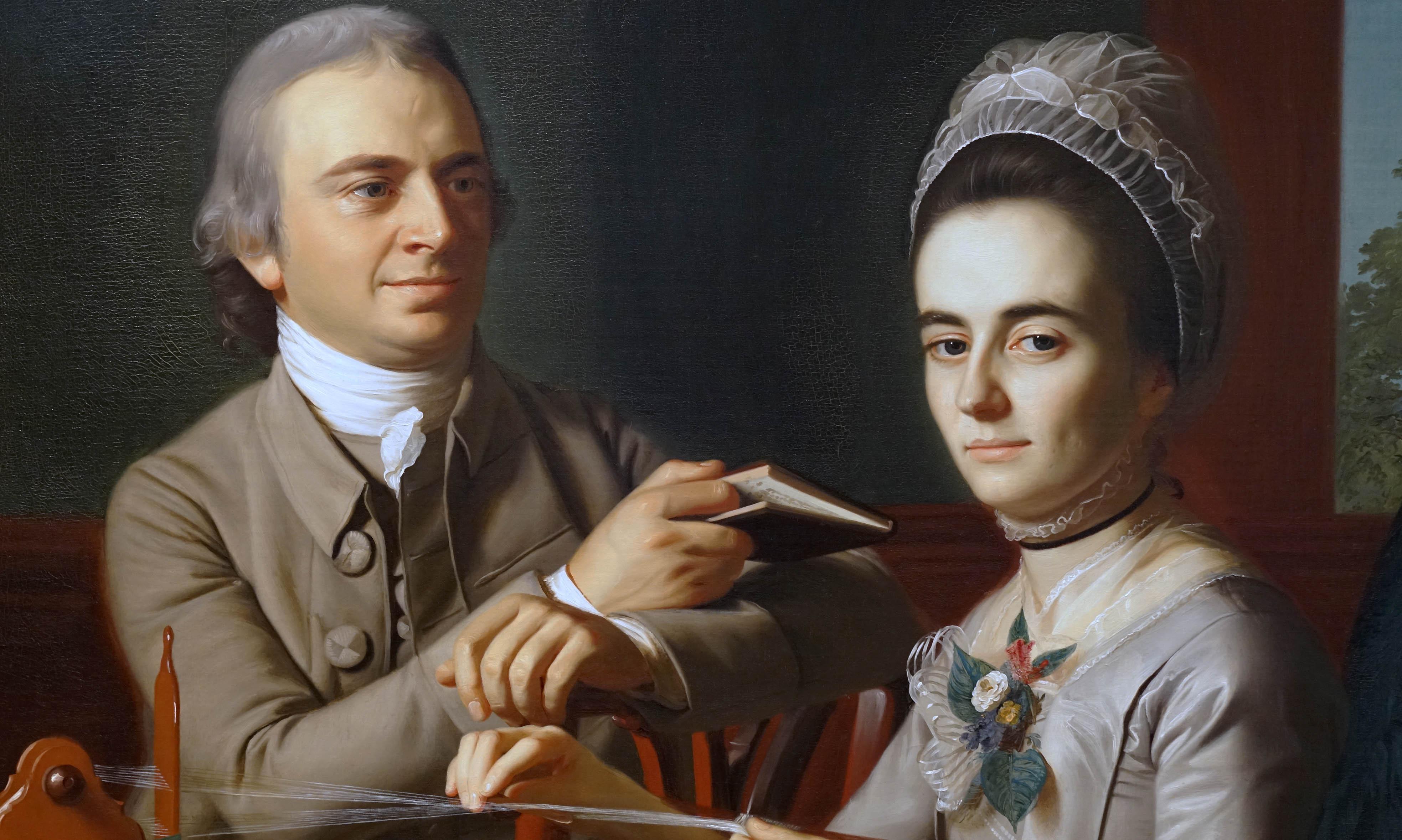 Portrait of Mr. and Mrs. Thomas Mifflin