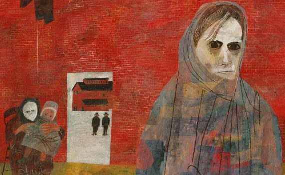 Ben Shahn, Miners' Wives, c. 1948, tempera on panel, 121.9 x 91.4 cm (The Philadelphia Museum of Art) © Estate of Ben Shahn