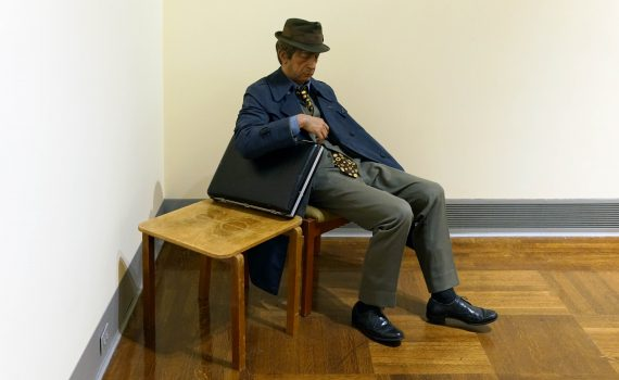 Duane Hanson, <em>Executive</em>, originally titled, <em>Another Day</em>