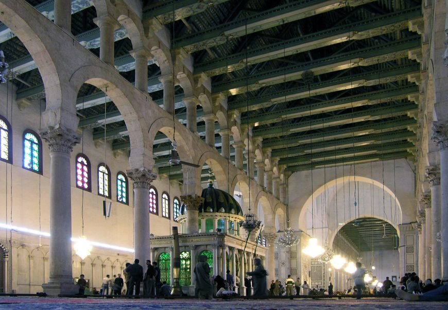 View of the Prayer Hall, Great Mosque of Damascus, photo: Seier+Seier, CC BY 2.0