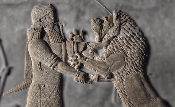The palace decoration of Ashurbanipal