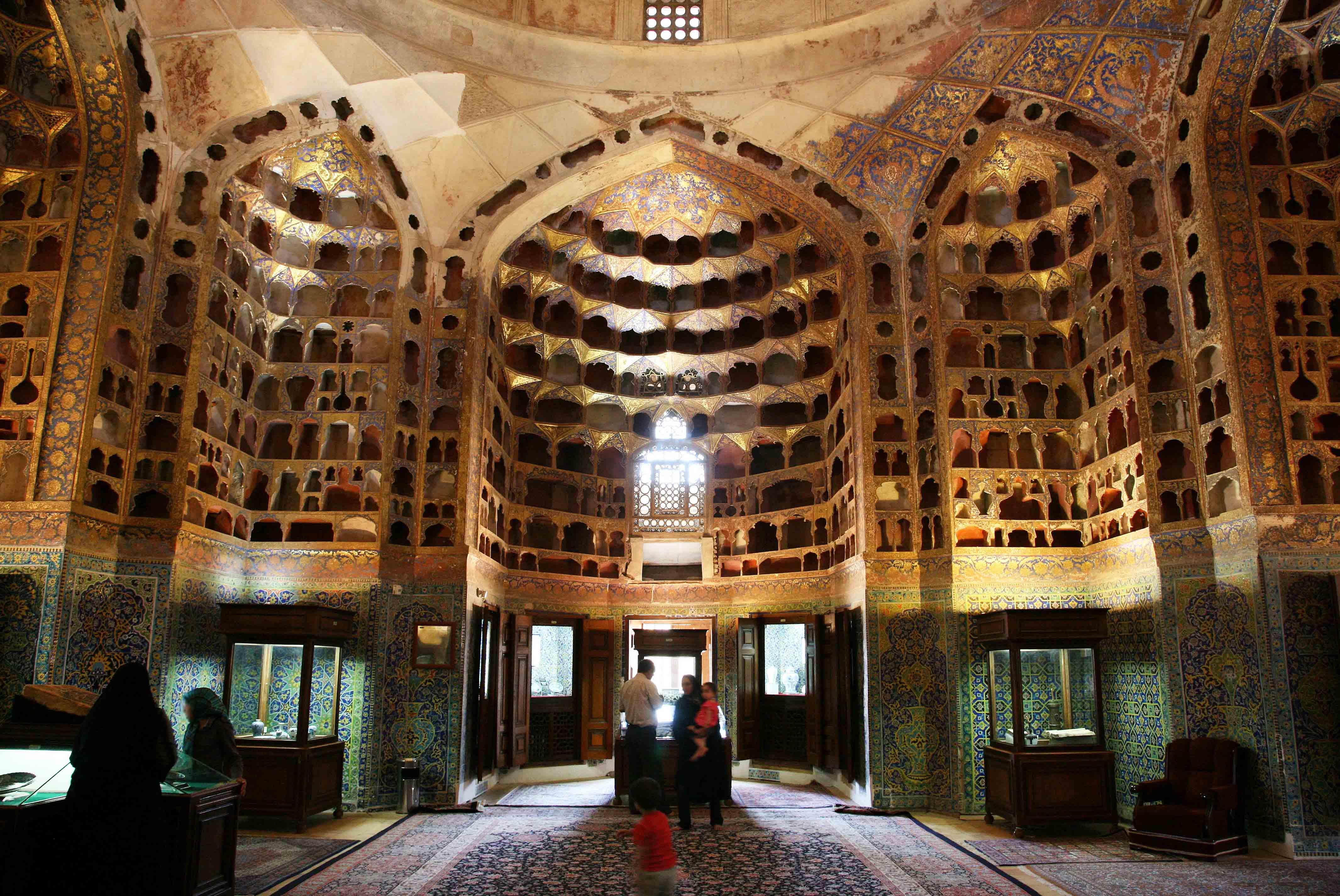 Chini Khaneh, Ardabil, Iran (photo: © UNESCO/Iran Images/Mohammad Tajik, Sheikh Safi al-din Khanegah Shrine Ensemble, in the City of Ardabil, Iran)