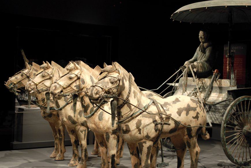 Mausoleum of Emperor Qin Shi Huangdi, War Chariot (photo: Tiffany, CC BY-NC 2.0)