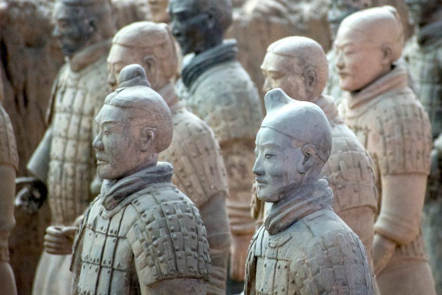 Mausoleum of Emperor Qin Shi Huangdi, Warriors (photo: scottgunn, CC BY-NC 2.0)