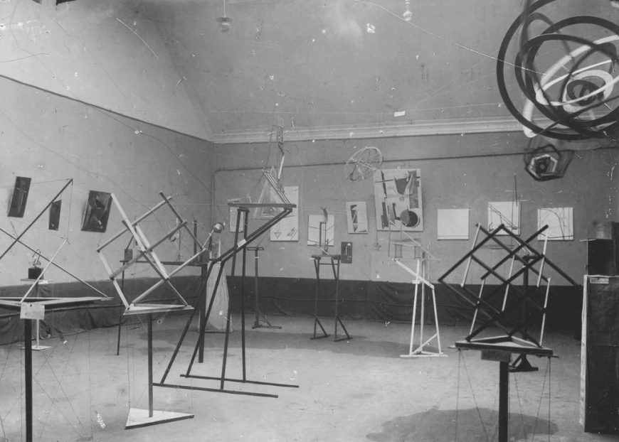 Obmokhu Exhibition, Moscow, 1921.