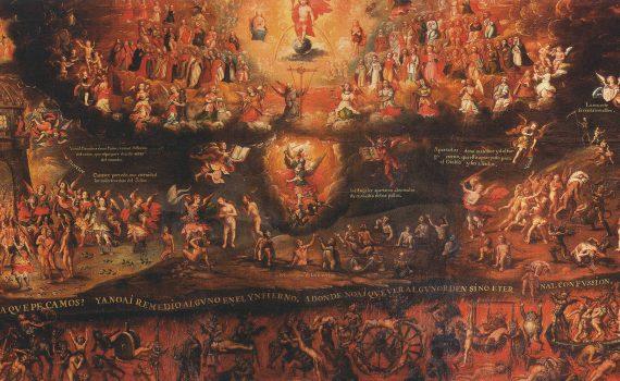 Diego Quispe Tito, <em>Last Judgment</em>, 1675