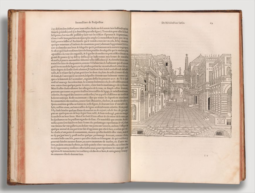 Sebastiano Serlio, Book 2 of The Book of Architecture, published by Jean Barbé, 1544