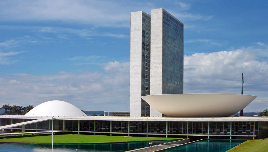 Oscar Niemeyer, National Congress, Brasília