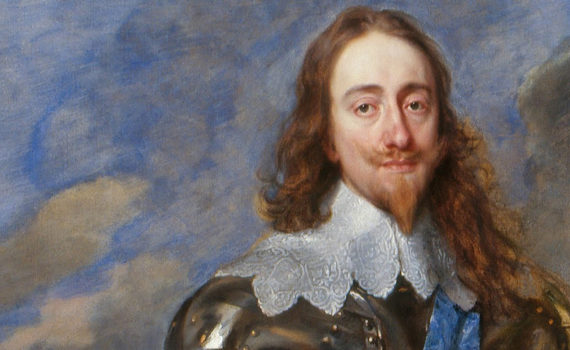 Anthony van Dyck, <em>Charles I with M. de St. Antoine</em>