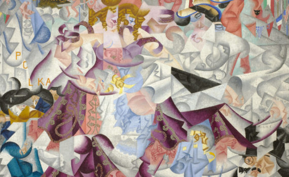 Gino Severini, <em>Dynamic Hieroglyph of the Bal Tabarin</em>