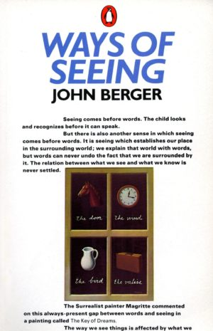 John Berger, cover of Ways of Seeing, 1972