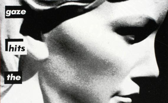 Barbara Kruger, <em>Untitled (Your gaze hits the side of my face)</em>