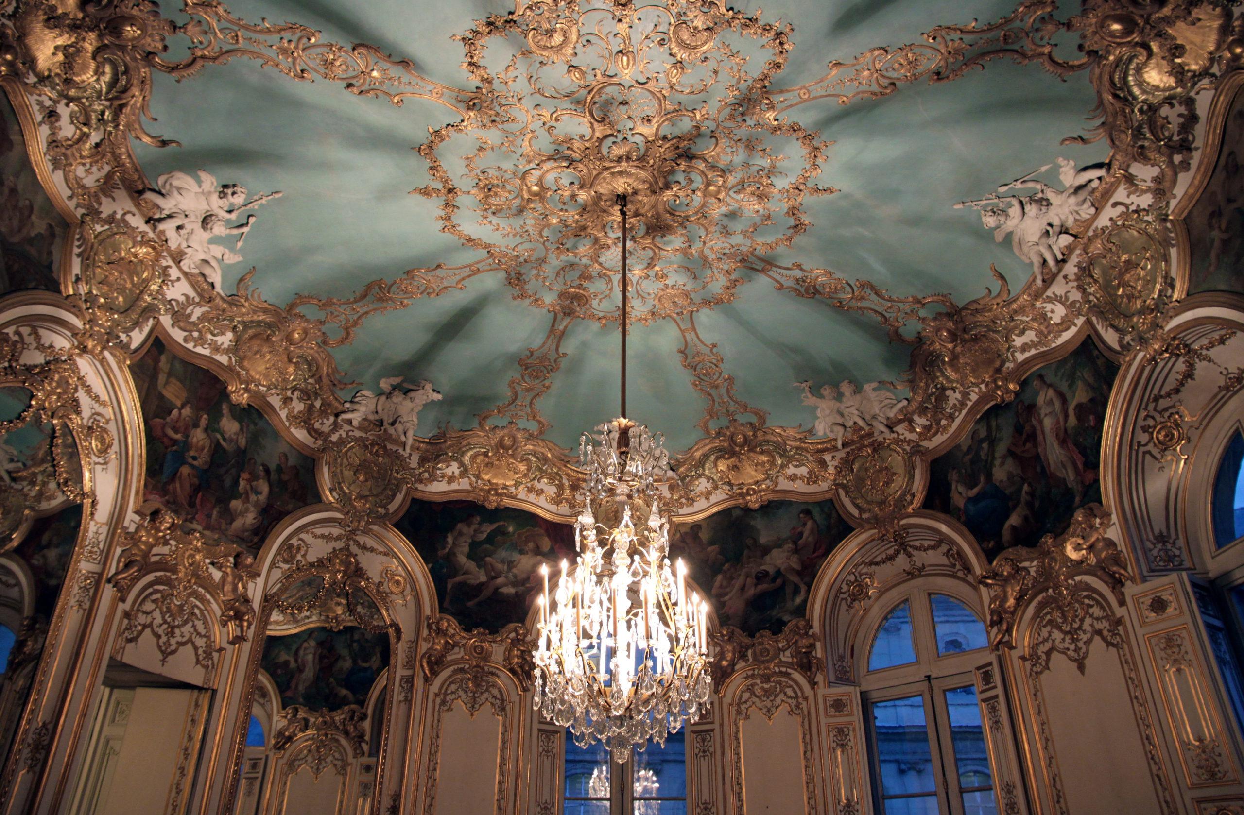 Germaine Boffrand, Salon de la Princesse, Hotel de Soubise, Paris, 1735 (photo: NonOmnisMoriar, CC BY-SA 3.0)