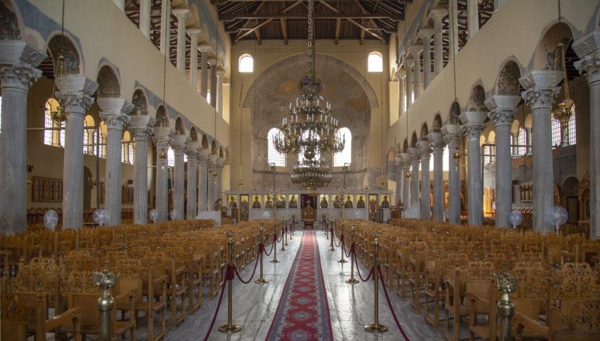 Church of the Acheiropoietos, Thessaloniki, early 5th century (CC BY-SA 4.0 Evan Freeman)