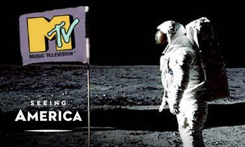 MTV's moonman, first broadcast 1981