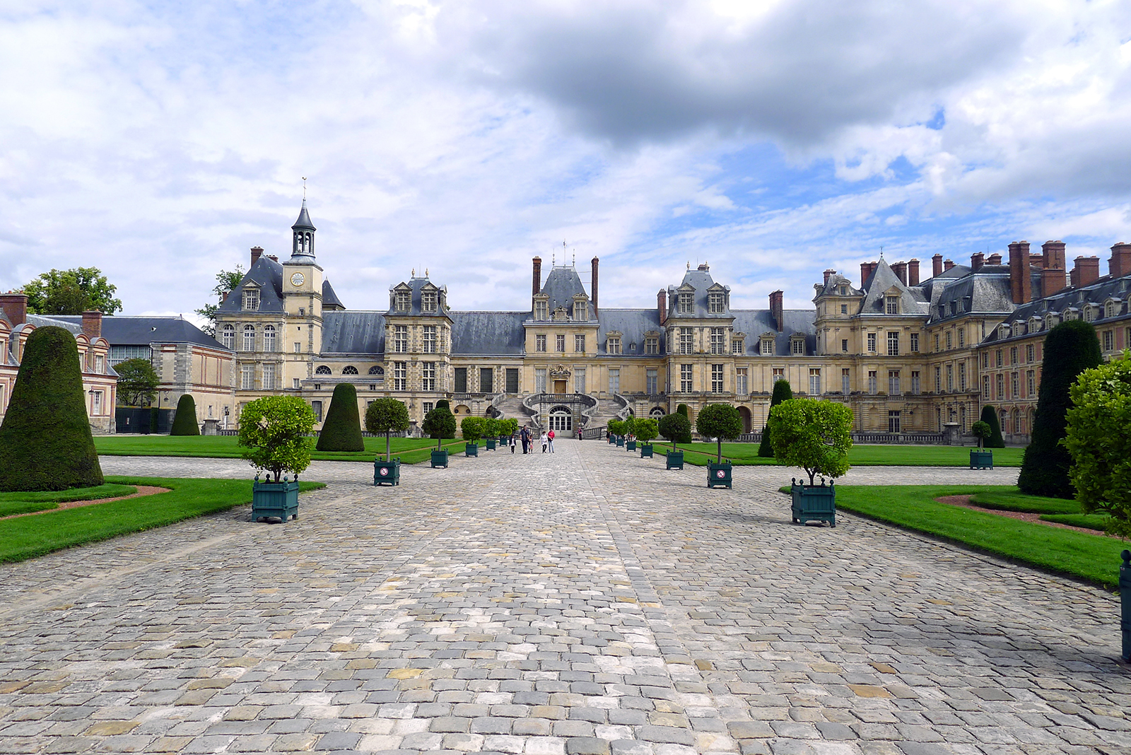 Château de Fontainebleau, initial design by Gilles Le Breton, 1528-1540, with additions until the 18th century (photo: Corinne Moncelli, CC BY-NC-ND 2.0)
