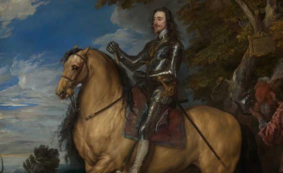 Anthony van Dyck, <em>Equestrian Portrait of Charles I</em>