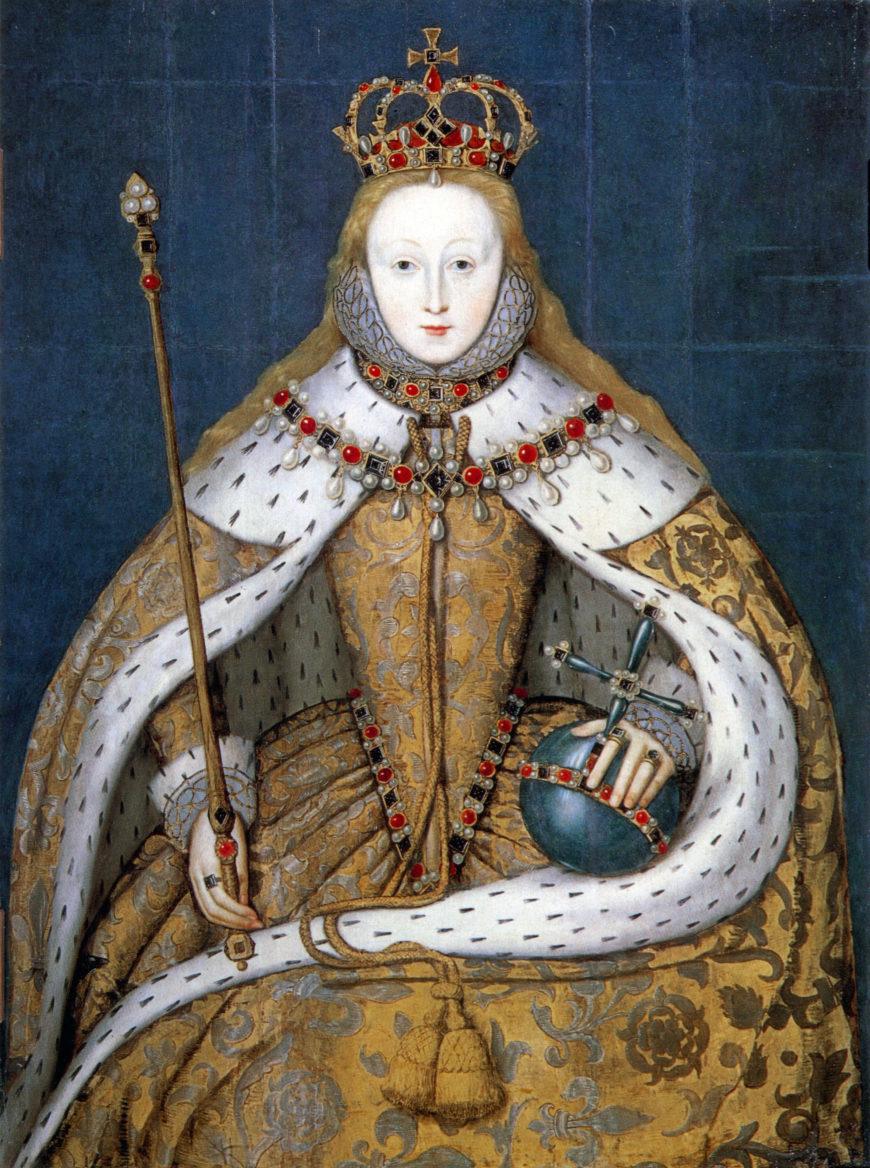 The Coronation Portrait, c.1600, oil on panel, 127.3 x 99.7cm (National Portrait Gallery, London)