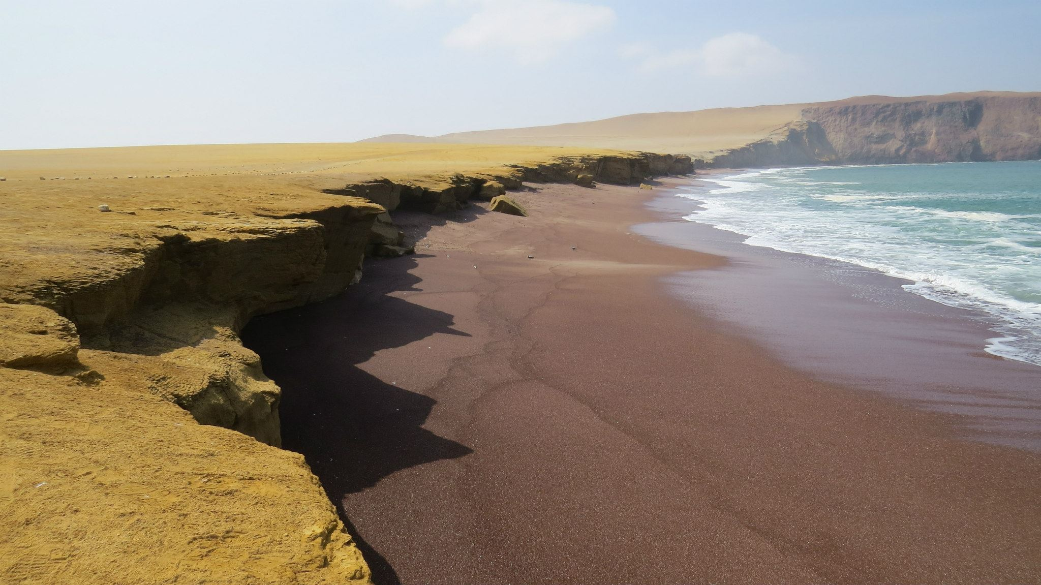 Red Beach, Paracas Reserve, Peru (photo: Dr. Mary Brown, CC BY-NC-SA 2.0)