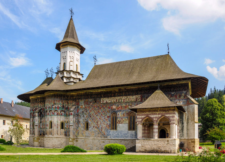 Sucevița Monastery, 1485, Moldavia (modern Romania) (photo: Ava Babili, CC BY-NC-ND 2.0)