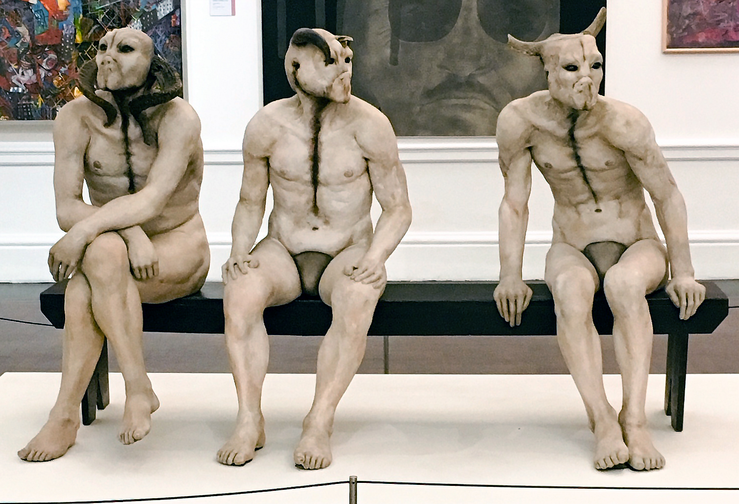 Jane Alexander, Butcher Boys, 1985/86, mixed media (South African National Gallery, Cape Town, photo: Goggins World, CC BY-NC-ND 2.0)