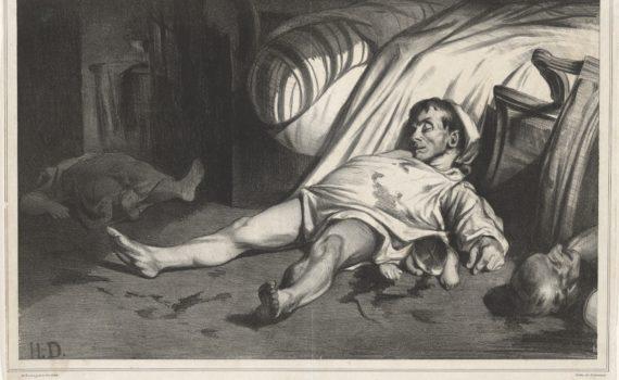 Daumier, <em>Rue Transnonain</em>