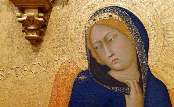 Simone Martini, <em>Annunciation</em>