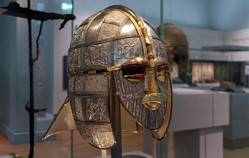 Replica of the helmet made by the Royal Armories (The British Museum) (photo: Steven Zucker, CC BY-NC-SA 2.0)