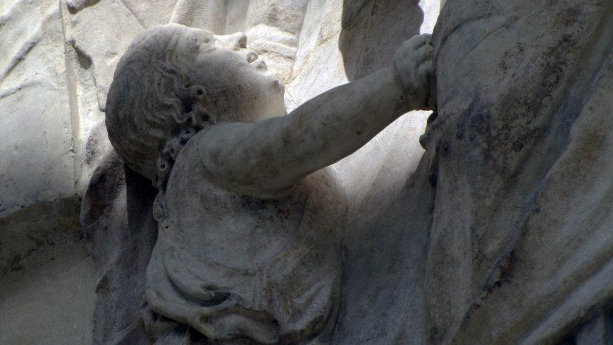 Lucius Caesar(?), north procession, Ara Pacis Augustae (Altar of Augustan Peace). July 4, 13 B.C.E.