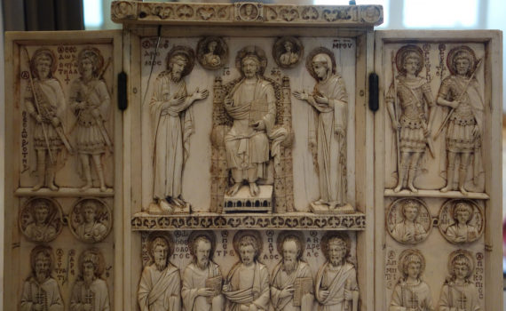 A Byzantine vision of Paradise — The Harbaville Triptych