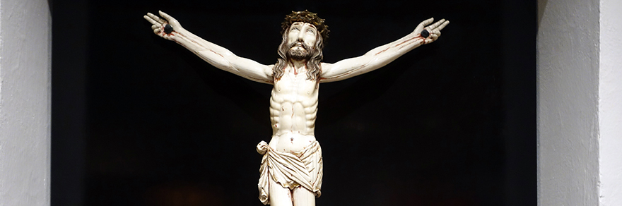 Christ Crucified, 17th century, ivory (Museo Franz Mayer, Mexico City)