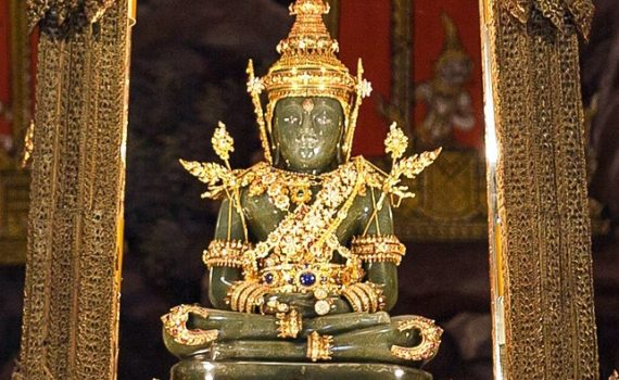 The Emerald Buddha and pandemics