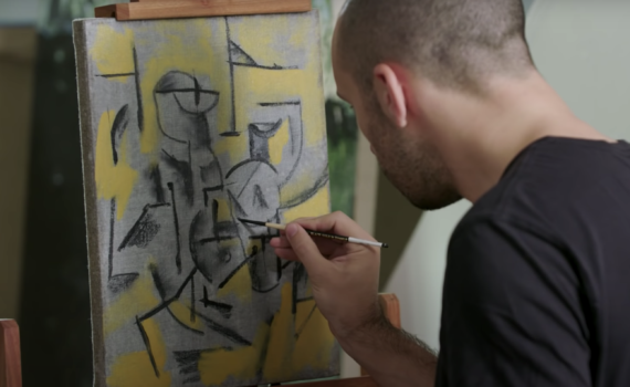 How to paint like Pablo Picasso (Cubism)