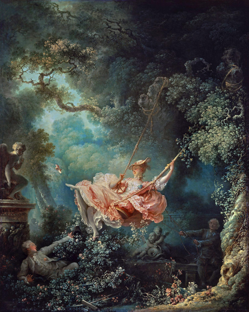 Jean-Honoré Fragonard, The Swing, oil on canvas, 1767 (Wallace Collection, London) (photo: Steven Zucker, CC BY-NC-SA 2.0)