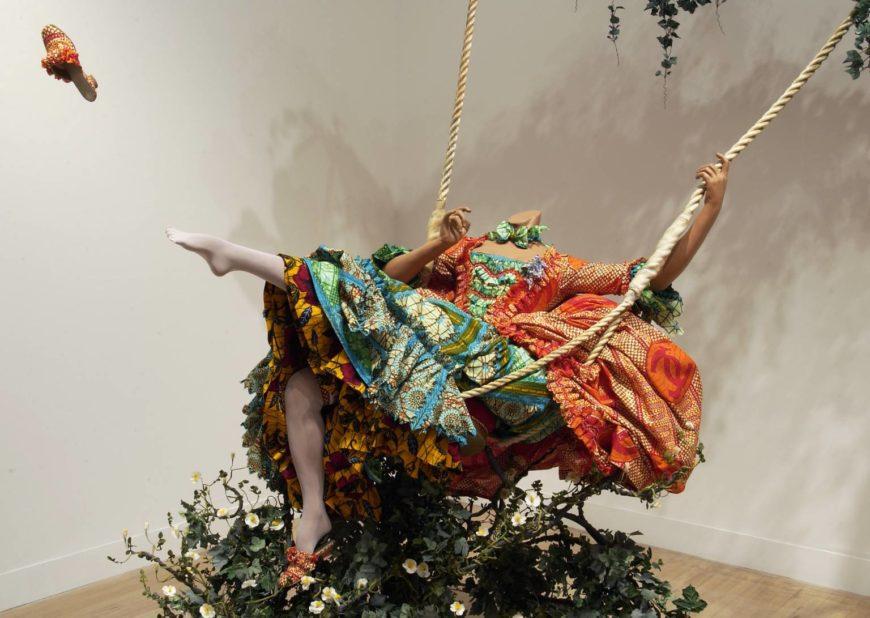 Yinka Shonibare MBE, The Swing (After Fragonard), 2001 (Tate, London) © Yinka Shonibare