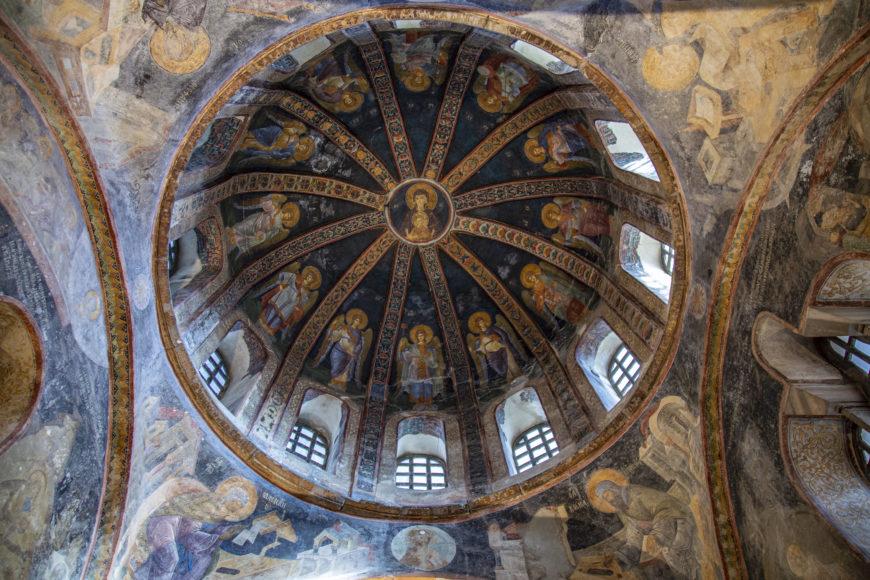 "Parekklesion dome, c. 1316–1321, Chora church, Constantinople (Istanbul) (photo: <a href=""https://flic.kr/p/2kNm1VS"">byzantologist</a>, CC BY-NC-SA 2.0"