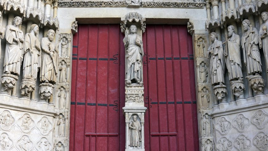 Trumeau, Amiens Cathedral