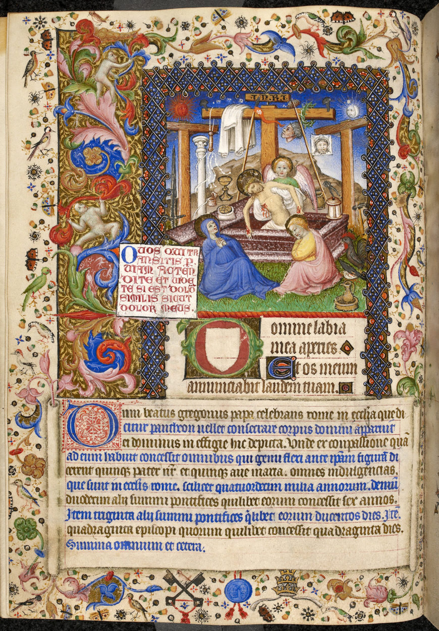 Book of Hours, 1400–1410, France, ink on parchment, 22.5 x 16 cm (The British Library)