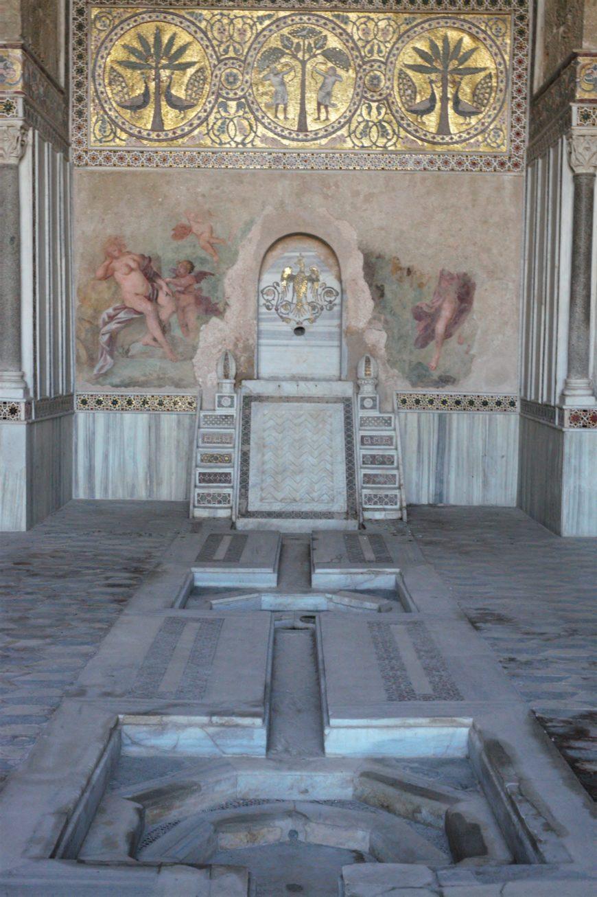 Fountain hall, La Zisa, 1164-1175 (photo: Ariel Fein, CC BY-NC-SA 2.0)