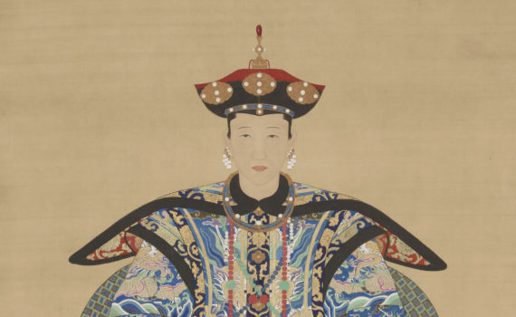 Portraits of Shi Wenying and Lady Guan