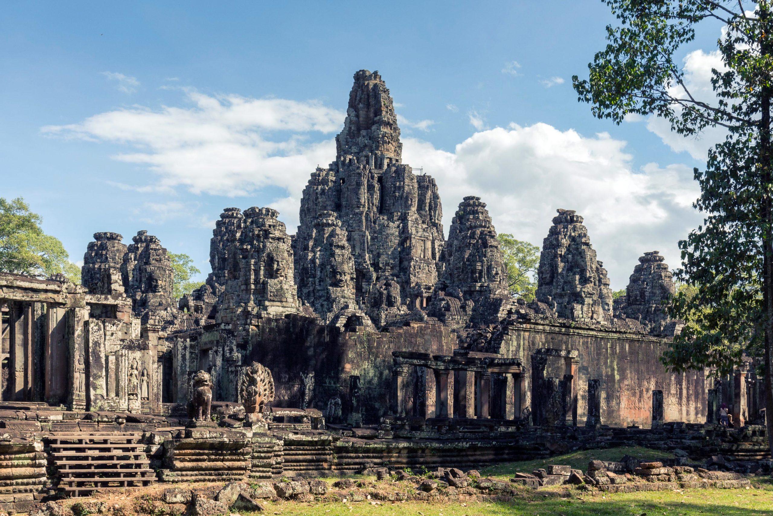Bayon, the most notable temple at Angkor Thom (photo: Dmitry A. Mottl, CC BY-SA 4.0)