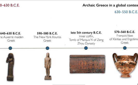 Tiny timeline: Archaic Greece in a global context